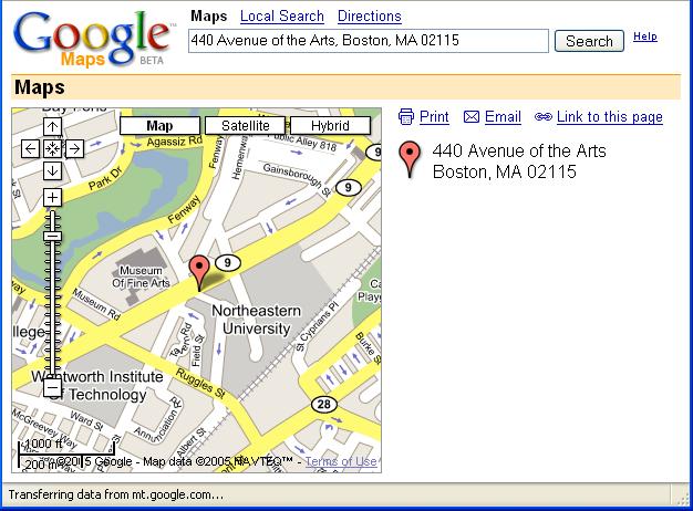 CSG170 Homework #1 - Google Maps